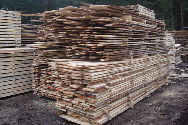 Sawn timber – for construction
