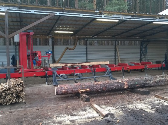 Band sawmills